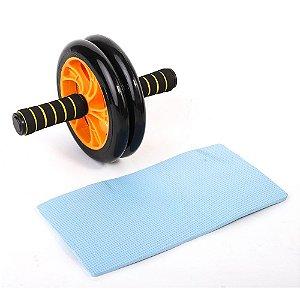 Roda de abdominal dupla com rodas macias 5555015