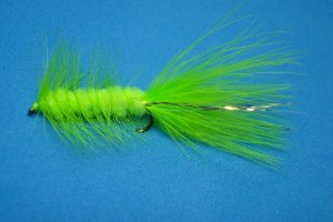 WOOLLY BUGGER CHARTREUSE