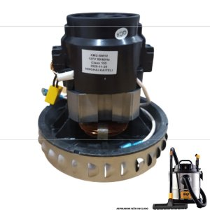 Motor Elétrico 1600w Para Aspirador Wap Gtw Inox 20 (127v)