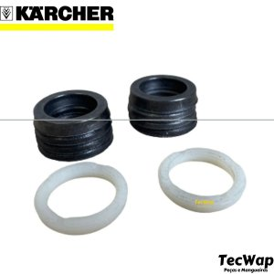 Kit Gaxetas 22mm Para Lavadoras Karcher Hd800 Hds800 Hs1200