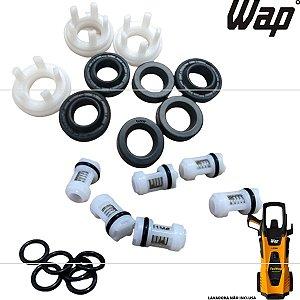 Kit Reparos Vedação Gaxetas + Valvulas Para Wap Líder 2200 FW004353 FW004380