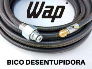 Mangueira Desentupidor 5 Metros Para Wap Bravo-Super