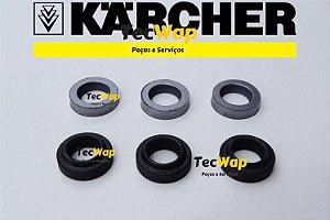 Kit Reparos Gaxetas + Anel Raspador para Karcher HD 585