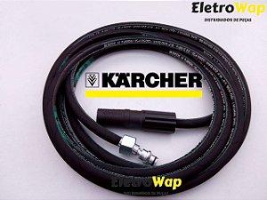 Mangueira Trama de Aço + Bico Variador Para Karcher 303-310-330 MOD. Residenciais (10 Metros)