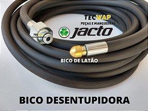 10 Metros Mangueira com Bico Desentupidora Para Lavadora Jacto J6800