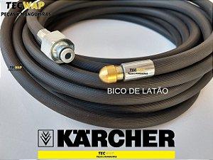 20 Metros Mangueira Desentupidora de Tubulação - Karcher HD 585