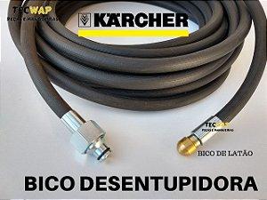 20 Metros Mangueira Desentupidora de Tubulação de Esgoto - Karcher HD 585