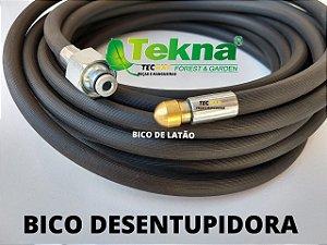 20 Metros Mangueira Desentupidora de Tubulação de Esgoto - Tekna