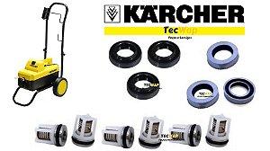 Kit Reparos com Válvulas Gaxetas Para Lavadora Karcher HD 585 Originais
