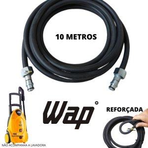 10 Metros Mangueira Para Lavadora Wap Bravo / Wap Excellente