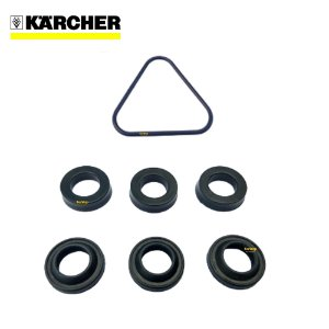 Kit Gaxetas + Kit Anel Raspador de Oleo + Oring Triangular Para Karcher
