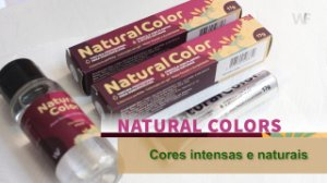 Kit de Tintas para Cílios e Sobrancelhas-Natural Color