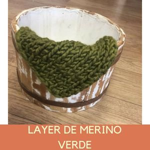 Layer de Merino Verde