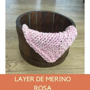 Layer de Merino Rosa