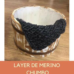 Layer de Merino Chumbo