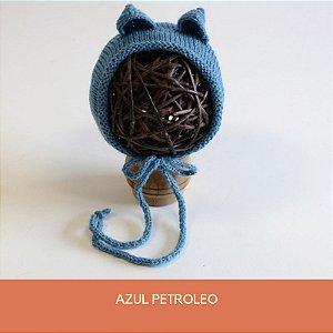 Gorro de Ursinho Azul Petroleo