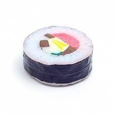 Ímã de Geladeira em Formato de Sushi Futomaki