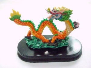 Dragão Decorativo Colorido 9 cm (F)