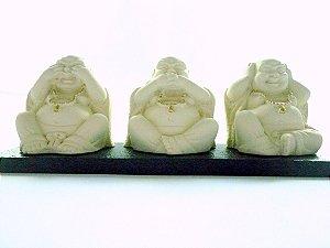 Os 3 Budas - Cego / Mudo / Surdo (5,5cm)