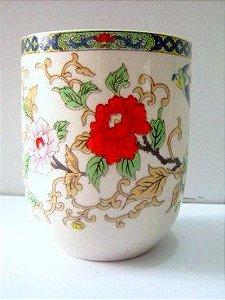 Copo de Cerâmica para Chá - Floral