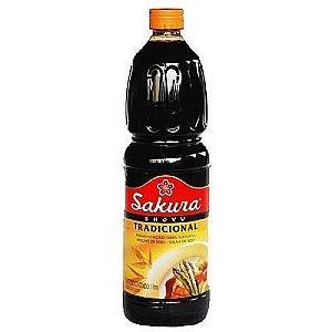 Molho de Soja (Shoyu) Tradicional -  Sakura 1000 ml