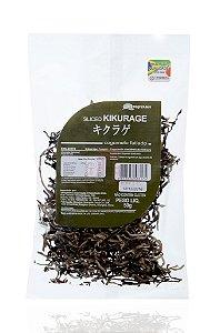 Kikurage Funghi - Cogumelo Desidratado Fatiado (50g)
