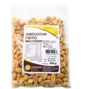 Amendoim Frito (sem Película / Salgado) - 200 g