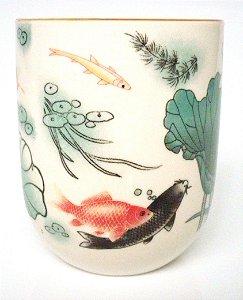 Copo de Cerâmica para Chá - Carpas