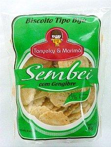 Biscoito Sembei com Gengibre - 50 g