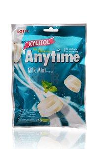 Bala de Xylitol sabor Leite e Menta SEM AÇÚCAR - Lotte 74 g