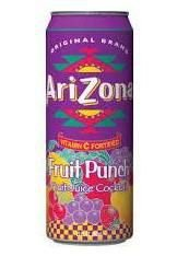 Arizona - Fruit Punch (Fruit Juice Cocktail) - 340ml