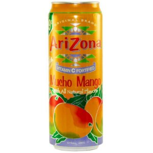 Suco de Manga (Mucho Mango Fruit Juice Cocktail) - Arizona 340ml