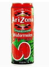Suco de Melancia (Watermelon Fruit Juice Cocktail) - Arizona 340ml