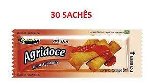 Molho Agridoce em Sachês - 30 sachês x 7 ml