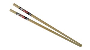 Hashi de Bambu PEIXE (Bamboo Single Chopsticks)