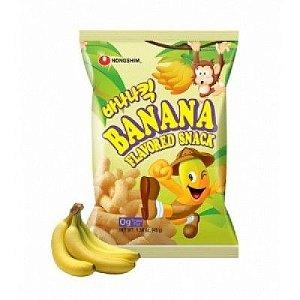 Salgadinho sabor Banana 45 g - Nong Shim