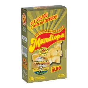 Mandiopã (Aperitivo de Mandioca) sabor Alho 80 g