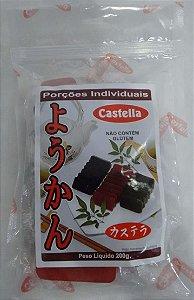 Yookan Fatiado (Doce de Feijão) - Castella 200 g