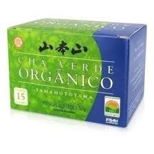 Chá Verde Orgânico - Yamamotoyama 15 sachês (30g)