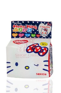 Furikake (Tempero para Arroz) da Hello Kitty (20 envelopes) - Tanaka 48 g