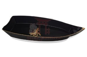 Barco Grande para Sushi e Sashimi (Obune) com Ideograma Japonês