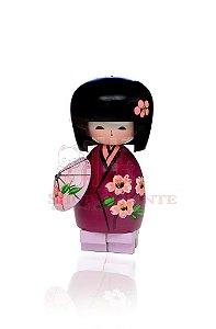 Kokeshi Sakura Roxo