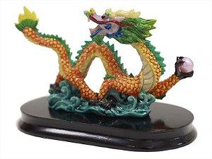 Dragão Decorativo Colorido 8 cm (F)