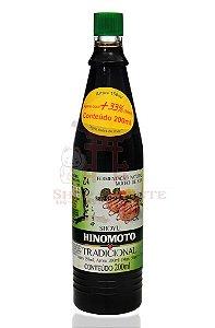 Molho de Soja (Shoyu) Tradicional - Hinomoto 200 ml
