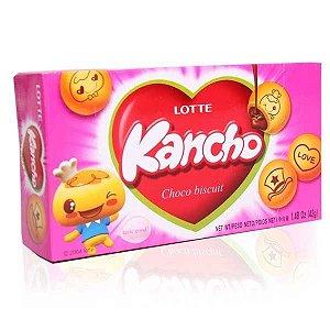 Biscoito Kancho com recheio de Chocolate 42 g - Lotte