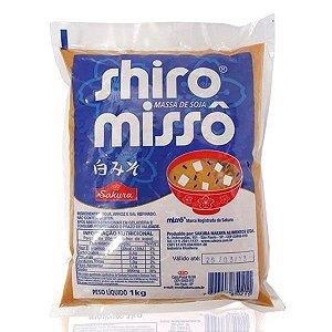 Missô (Massa de Soja) Shiro Missô - Sakura 1 kg