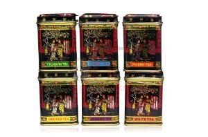 Chá Chinês 6 Mini Latas Black 159 g
