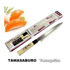 Faca para Sushi e Sashimi Yanaguiba 21 cm