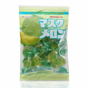 Bala sabor Melão - Musk Melon Kasugai 130 g