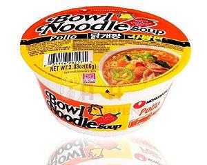 Macarrão Instantâneo sabor Frango Apimentado - Shin Bowl - Nong Shim 86 g